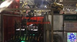 东风日产花都二工厂地板线示教项目(含2D视觉搬运)