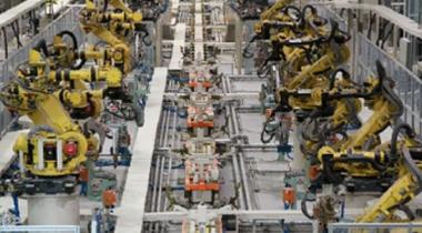 二工厂车身补焊线侧围线机器人示教
