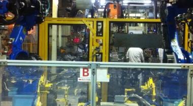 T6A/T9A后围板机器人工作站设计调试