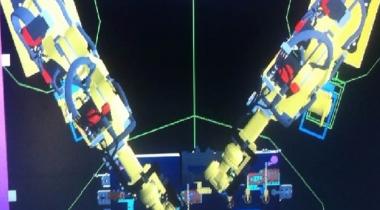 T9车型仿真及自动岛机器人示教
