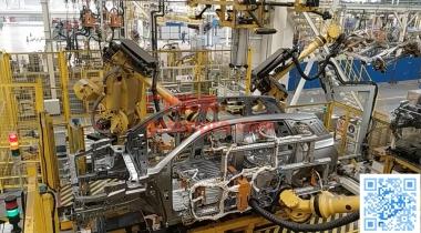 某工厂侧围预装自动线