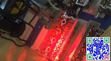 某乘用车发动机缸盖3D视觉搬运